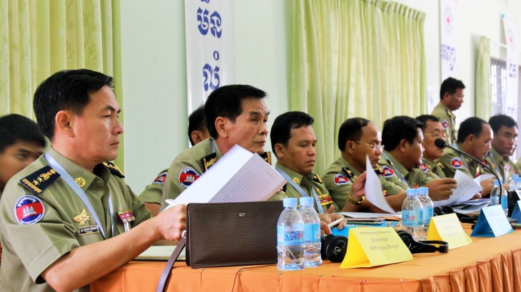 Cambodia: Prison directors discuss security and care
