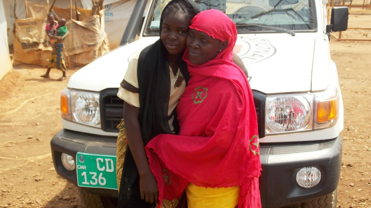 Cameroon/CAR: A mother and daughter reunited after an agonizing year of separation