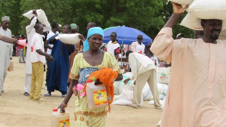 Camerún: primera distribución del CICR en la región del Extremo Norte
