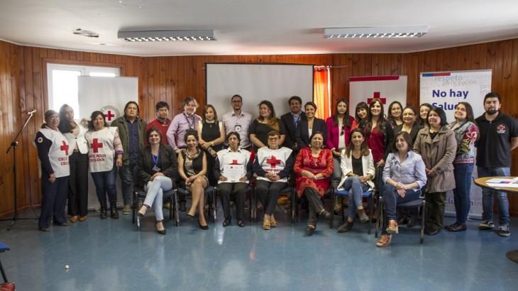 Chile: finaliza el ciclo de capacitación sobre  violencia y salud mental en La Araucanía