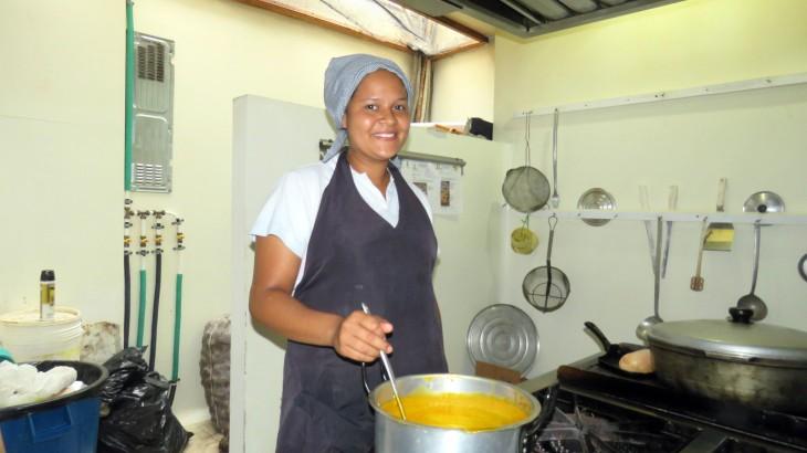 Colombia: en la casa de Carol ya comen tres veces al día