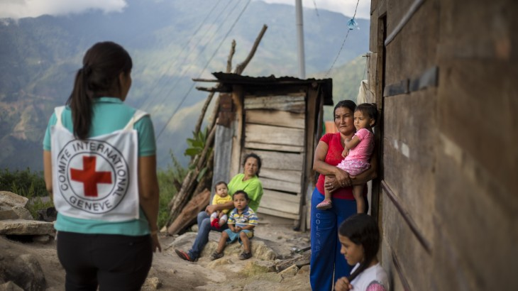 ICRC releases report on humanitarian situation in Colombia
