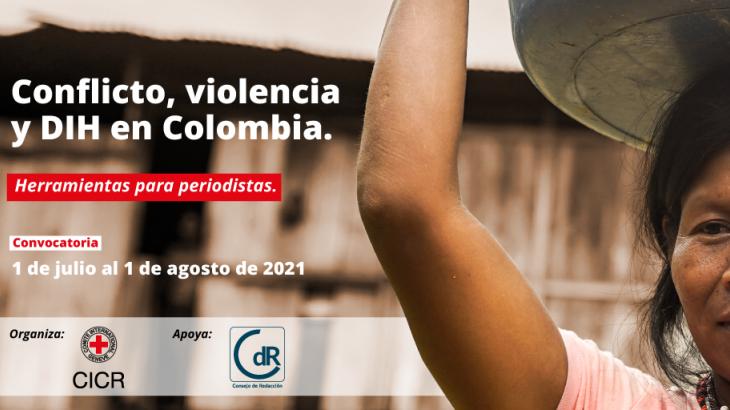 Curso virtual 'Conflicto, violencia y DIH en Colombia: Herramientas para periodistas'