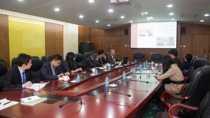 红十字国际委员会东亚代表处与中国现代国际关系研究院举行座谈