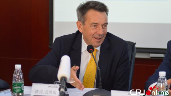 """CRI国际在线:红十字国际委员会主席毛雷尔期待与中国加强合作助推""""一带一路""""建设"""