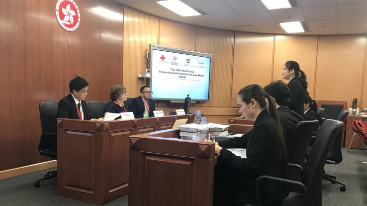 香港:亚太区国际人道法模拟法庭竞赛开幕 18国选手角逐地区冠军