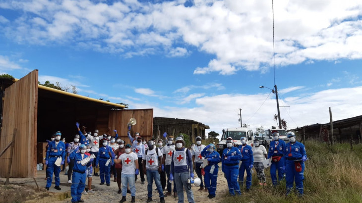 The International Movement of the Red Cross in Colombia stresses importance of respecting red cross emblem