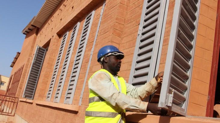Mali : fin des travaux du centre orthopédique de Mopti