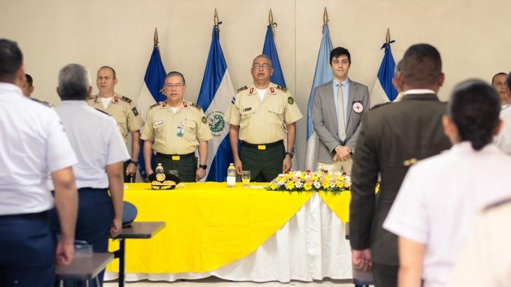 Honduras: militares de países del Triángulo Norte se capacitan en uso de la fuerza y principios humanitarios