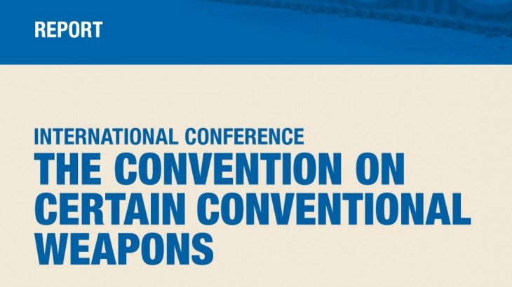 International Conference on the Convention on Certain Conventional Weapons