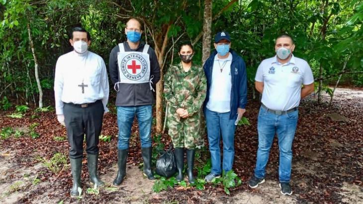 Colombia: liberación de una suboficial del Ejército en Arauca