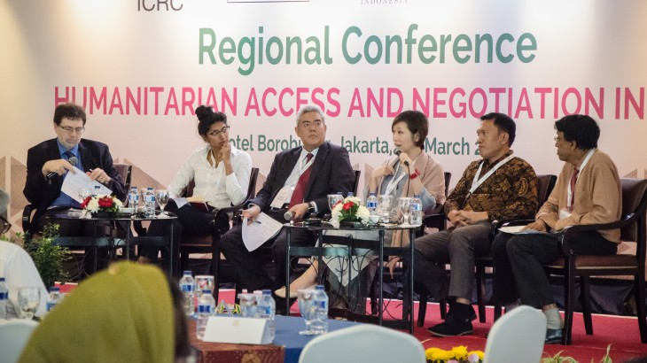 Indonesia: Asia Regional Conference on humanitarian negotiation and access