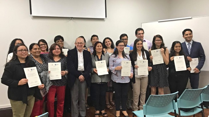 Concluye el Curso de Especialización en Justicia transicional para familiares de desaparecidos