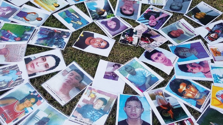 Honduras: acción en favor de las personas desaparecidas y sus familiares