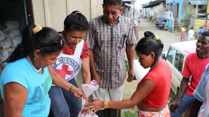 Diana Villa, la rescatista que ayuda a víctimas del conflicto