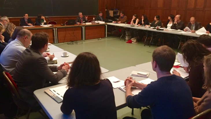 Introductory Seminar on International Humanitarian Law in Brussels