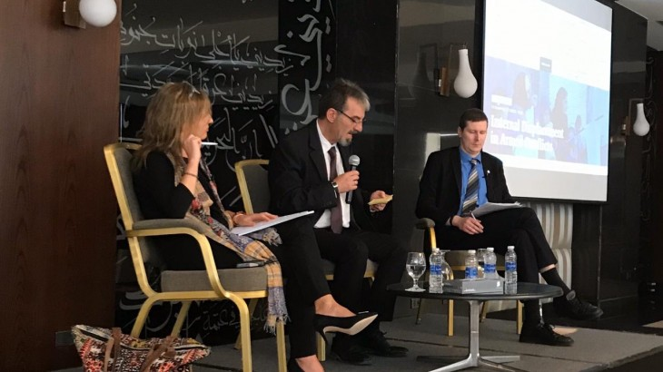 Displacement in armed conflict debated at panel discussion in Amman