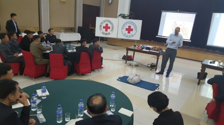 DPRK: Training increases awareness of blast trauma management