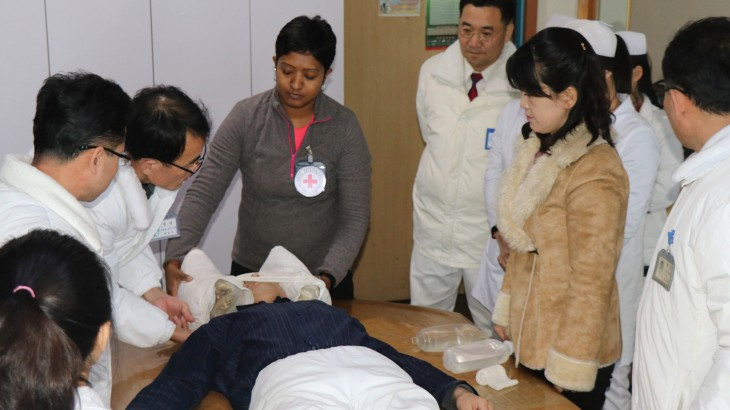 Support project for emergency department of Pyongyang Medical College Hospital