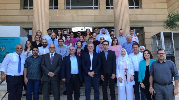 حلقة العمل الإقليمية الثانية لإعلام الحركة في بيروت