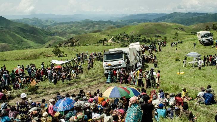 刚果民主共和国:新的暴力局势导致流离失所人数增加