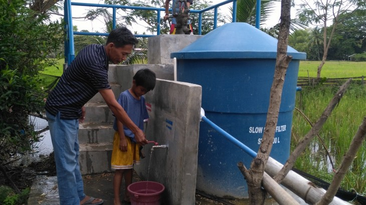 Ready, safe water for displaced families in Maguindanao