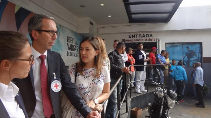 Director de Operaciones del CICR visita Venezuela por primera vez