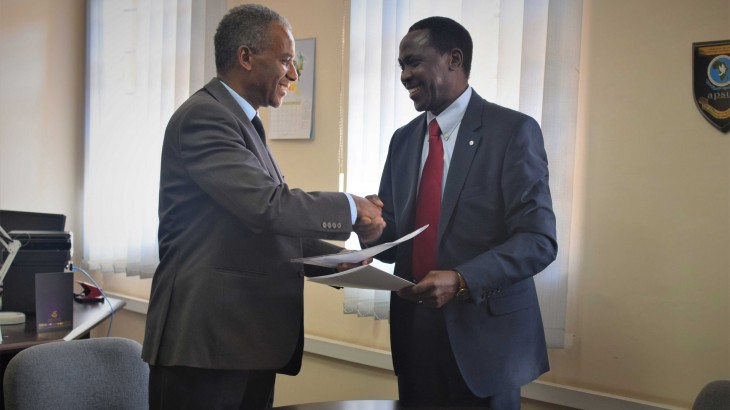 African Union : IPSS and ICRC sign a Memorandum of Understanding to enhance partnership