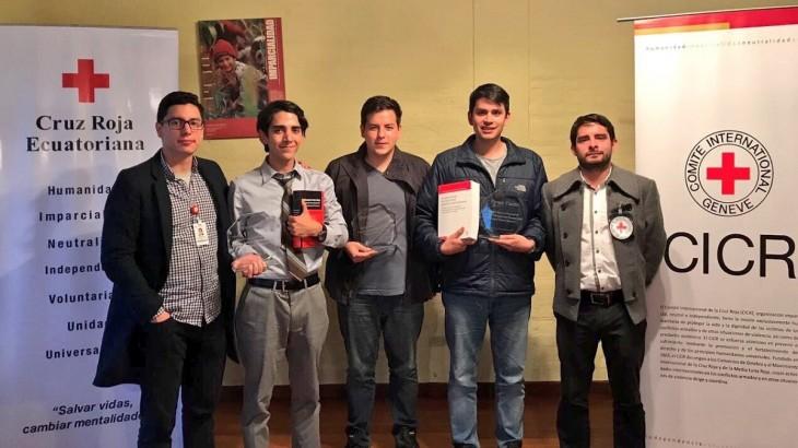 Ecuador: equipo de la Universidad San Francisco de Quito gana concurso sobre DIH