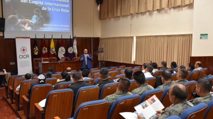 Ecuador: CICR y MIDENA realizan primer curso nacional de manejo de pacientes heridos por armas