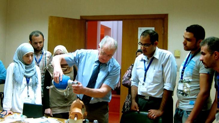 Egypt: Enhancing skills in handling emergency trauma