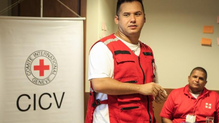 """Philipe Sampaio, de la Cruz Roja Brasileña: """"Aspiramos a volvernos una referencia en primeros auxilios"""""""