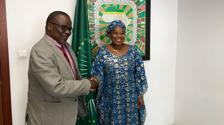 ICRC pays courtesy visit to AU Commissioner for Political Affairs