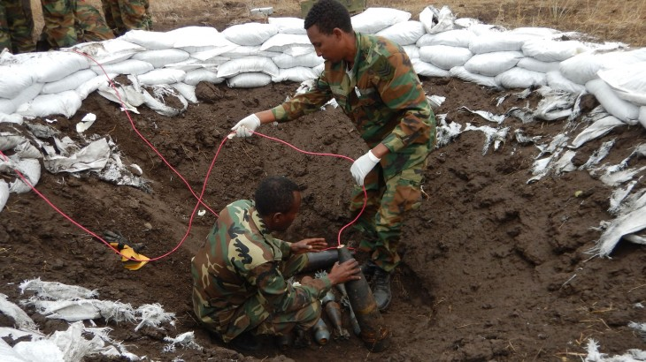 Ethiopia: Saving lives through explosive ordnance disposal practice