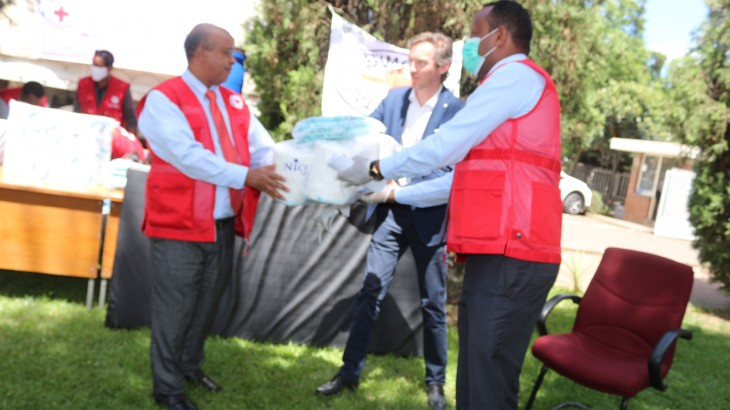 Ethiopia: ICRC, ERCS donate infection prevention and other items to 17 COVID-19 treatment centres