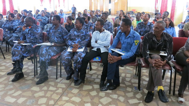 Ethiopia: Special police forces learn about humanitarian principles