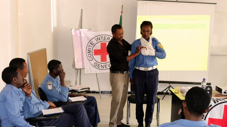 Ethiopia: Police trained in first aid, humanitarian principles