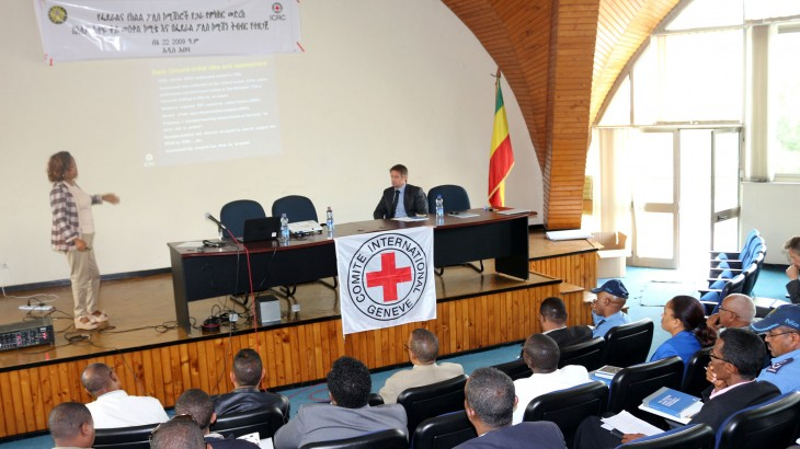 Ethiopia: ICRC, police commissioners held discussions on training provided to Ethiopian police
