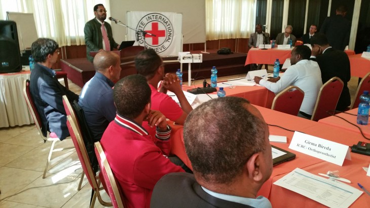 Ethiopia: ICRC holds annual physical rehabilitation partnership meeting with stakeholders