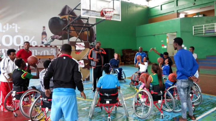 Ethiopia: Wheelchair basketball expert helps Ethiopian players, coaches advance