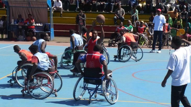埃塞俄比亚:首届轮椅篮球锦标赛圆满落幕