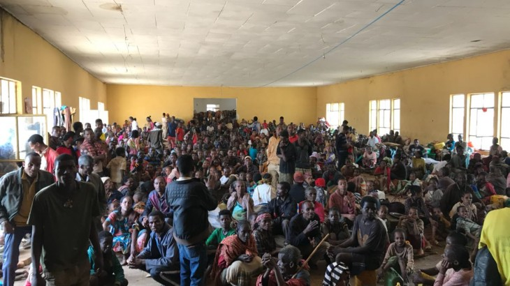 Éthiopie : la violence à l'origine de déplacements massifs sur fond de saison des pluies