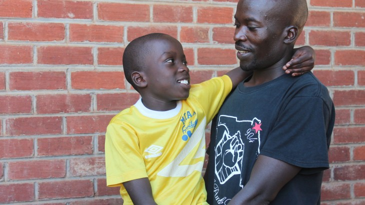 Zimbabwe: Father and son reunited after five years