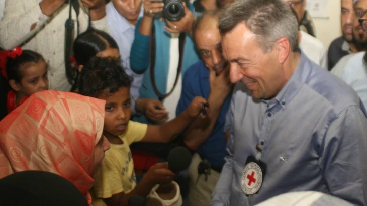 红十字国际委员会主席也门一线日记