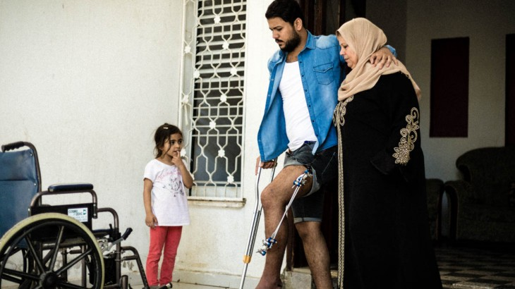 Fractured lives: Little optimism for Gaza's wounded
