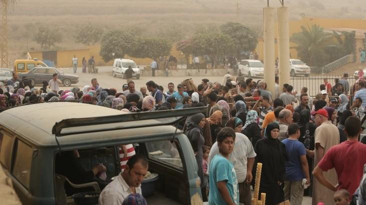 لبنان: أكبر عملية توزيع للمواد الغذائية على اللاجئين السوريين منذ بداية الأزمة