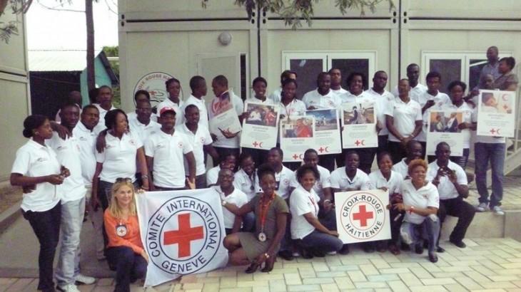 Haïti : renforcement du service de rétablissement des liens familiaux de la Croix-Rouge haïtienne
