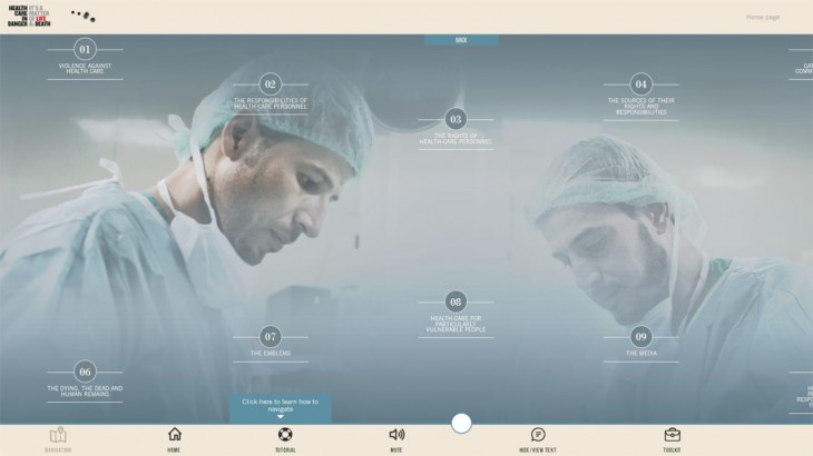 New e-learning on health care responsibilities in times of conflict