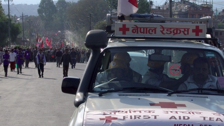 Promoting respect for ambulance services in Nepal
