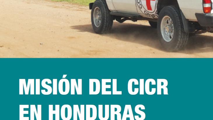 Misión del CICR en Honduras